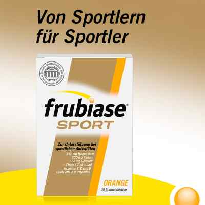 Frubiase Sport Brausetabletten Orange  bei versandapo.de bestellen