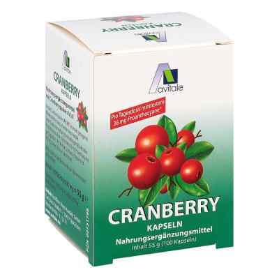 Cranberry Kapseln 400 mg  bei versandapo.de bestellen