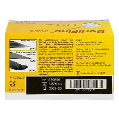 Berlifine micro Kanülen 0,33x12,7 mm  bei versandapo.de bestellen
