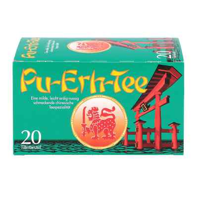 Pu Erh Tee Filterbeutel Teespezialität  bei versandapo.de bestellen