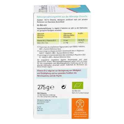 Chlorella 500 mg Bio Naturland Tabletten  bei versandapo.de bestellen