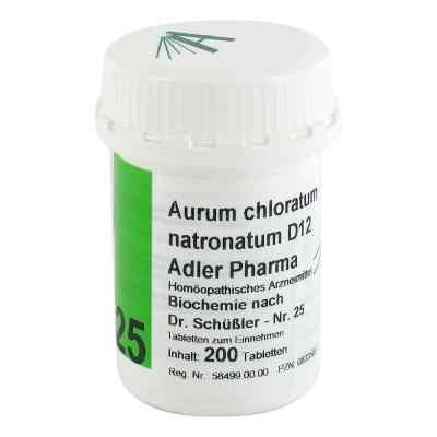 Biochemie Adler 25 Aurum chlor.natr.D12 Tabletten  bei versandapo.de bestellen