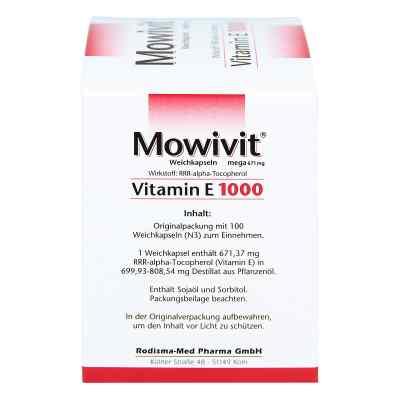 Mowivit Vitamin E 1000 Kapseln  bei versandapo.de bestellen
