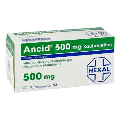 ANCID 500mg  bei versandapo.de bestellen