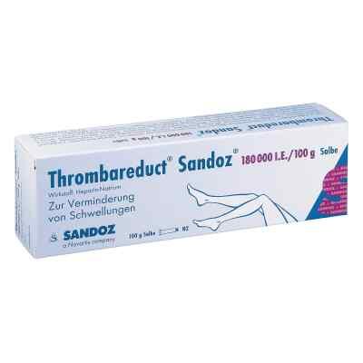 Thrombareduct Sandoz 180000 I.E./100g Salbe  bei versandapo.de bestellen