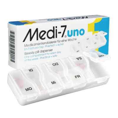 Medi 7 Uno Medikamenten Dosierer für 7 Tage  bei versandapo.de bestellen