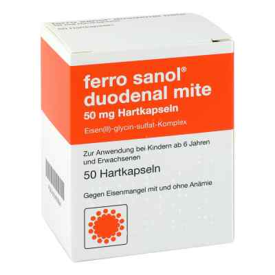 Ferro sanol duodenal mite 50mg  bei versandapo.de bestellen