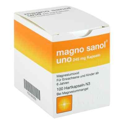 Magno Sanol uno 245 mg Hartkapseln  bei versandapo.de bestellen