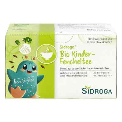 Sidroga Bio Kinder-fencheltee Filterbeutel  bei versandapo.de bestellen