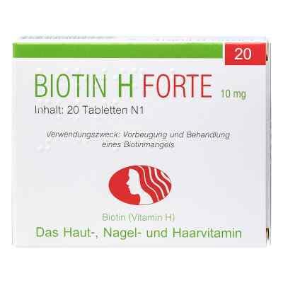 Biotin H forte Tabletten  bei versandapo.de bestellen