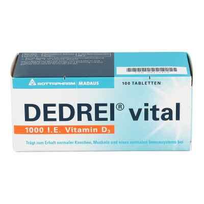 Dedrei vital Tabletten  bei versandapo.de bestellen