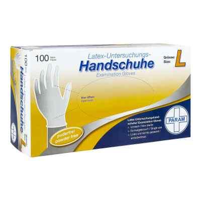 Handschuhe Einmal Latex puderfrei L  bei versandapo.de bestellen