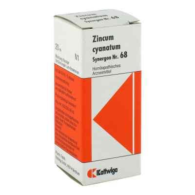 Synergon 68 Zincum cyanatum Tropfen  bei versandapo.de bestellen