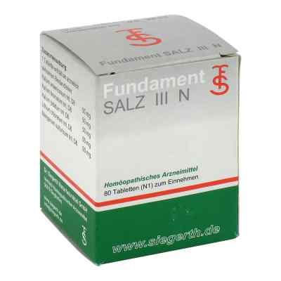 Fundament Salz Iii N Tabletten  bei versandapo.de bestellen