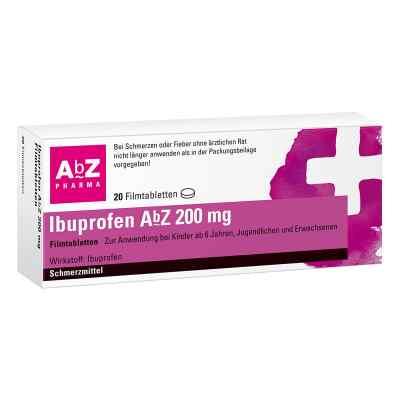 Ibuprofen AbZ 200mg  bei versandapo.de bestellen