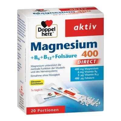 Doppelherz Magnesium + B Vitamine Direkt Pellets  bei versandapo.de bestellen