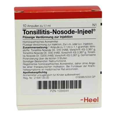 Tonsillitis Nosode Injeel Ampullen  bei versandapo.de bestellen