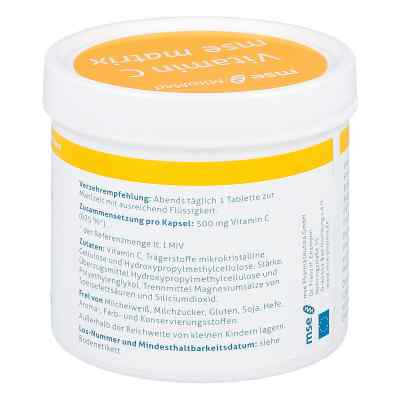 Vitamin C Mse Matrix Tabletten  bei versandapo.de bestellen