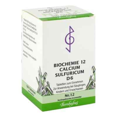 Biochemie 12 Calcium sulfuricum D6 Tabletten  bei versandapo.de bestellen