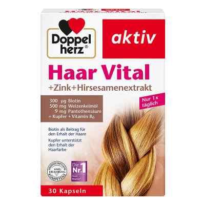 Doppelherz Haar Vital+zink+hirseextrakt Kapseln  bei versandapo.de bestellen