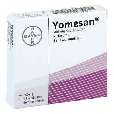 Yomesan 500 mg Kautabletten  bei versandapo.de bestellen