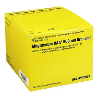 Magnesium Aaa 500 mg Granulat  bei versandapo.de bestellen