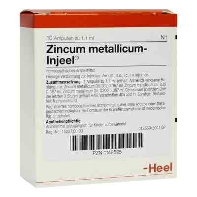 Zincum Metallicum Injeei Ampullen  bei versandapo.de bestellen