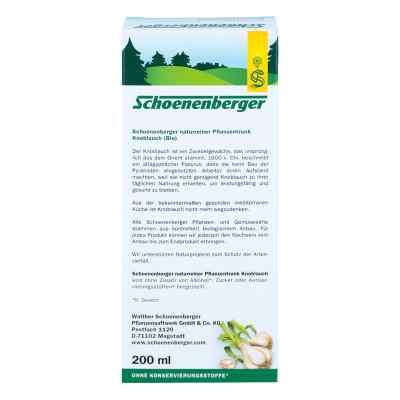 Knoblauch Naturreiner Pflanzentr.schoenenberger  bei versandapo.de bestellen