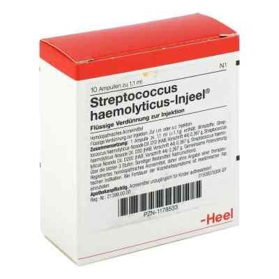 Streptococcus Haemolyticus Injeel Ampullen  bei versandapo.de bestellen