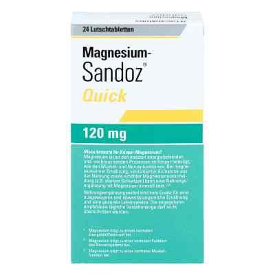 Magnesium Sandoz Quick Minerals Lutschtabletten  bei versandapo.de bestellen
