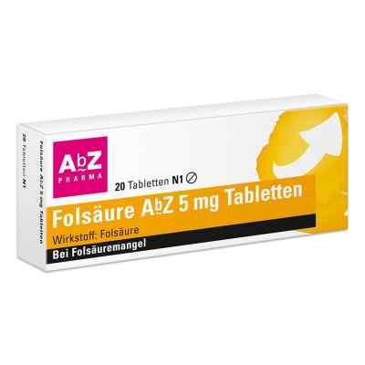 Folsäure Abz 5 mg Tabletten  bei versandapo.de bestellen