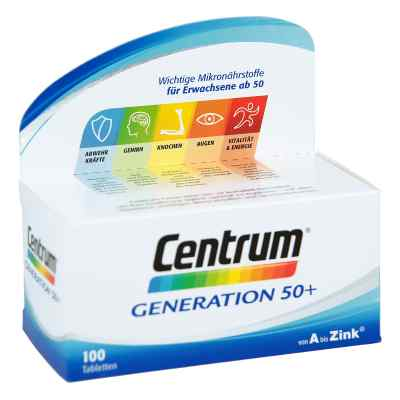Centrum Gen.50 + A-Zink + Flora Caplette  bei versandapo.de bestellen