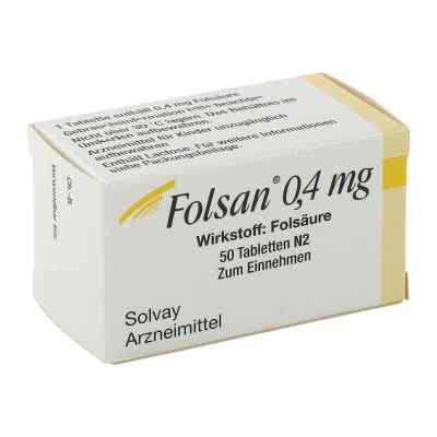 Folsan 0,4 mg Tabletten  bei versandapo.de bestellen