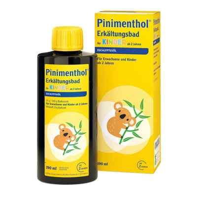 Pinimenthol Erkältungsbad für Kinder ab 2 Jahren Eucalyptus  bei versandapo.de bestellen