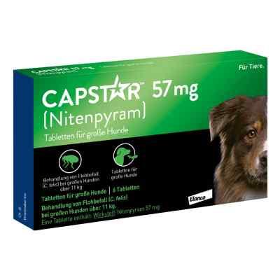 Capstar 57 mg Tabletten für grosse Hunde  bei versandapo.de bestellen