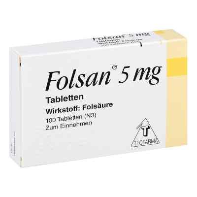 Folsan 5 mg Tabletten  bei versandapo.de bestellen
