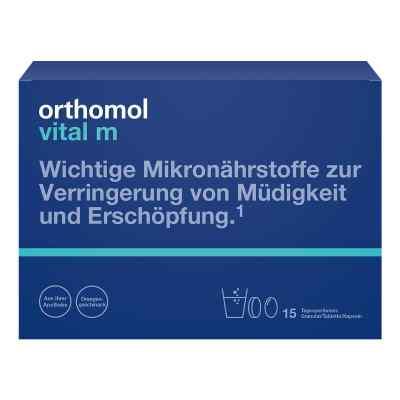 Orthomol Vital M 15 Granulat/kaps.kombipackung  bei versandapo.de bestellen
