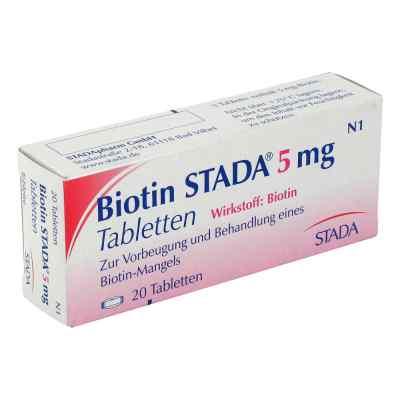 Biotin Stada 5 mg Tabletten  bei versandapo.de bestellen