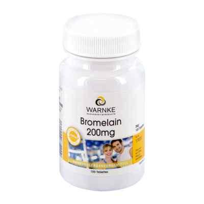 Bromelain 200 mg magensaftresistente Tabletten  bei versandapo.de bestellen