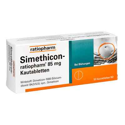 Simethicon-ratiopharm 85mg  bei versandapo.de bestellen