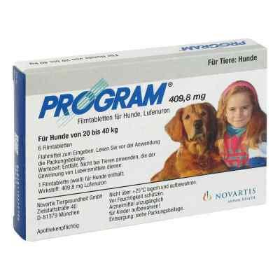 Program Tabletten für hunde 409,8mg 20-40kg  bei versandapo.de bestellen