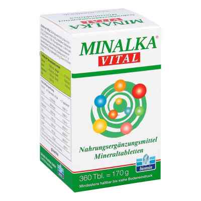 Minalka Tabletten  bei versandapo.de bestellen