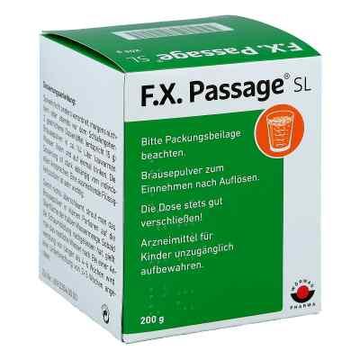 F.X. Passage SL Brausepulver  bei versandapo.de bestellen