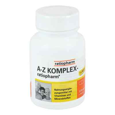 A-z Komplex ratiopharm Tabletten  bei versandapo.de bestellen