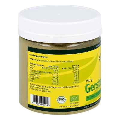 Gerstengras Pulver kbA  bei versandapo.de bestellen