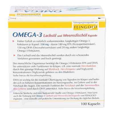 Omega 3 Lachsöl und Meeresfischöl Kapseln  bei versandapo.de bestellen