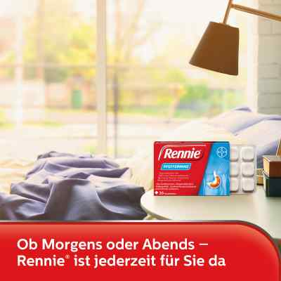 Rennie Pfefferminz gegen Sodbrennen Kautabletten  bei versandapo.de bestellen