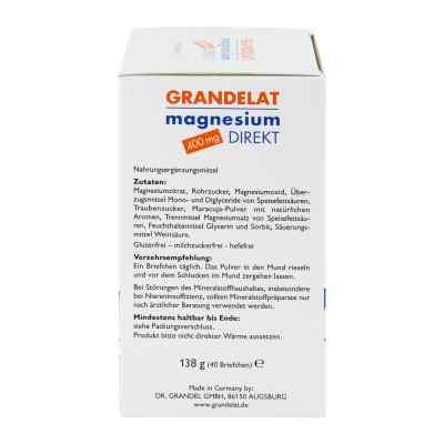 Magnesium Direkt 400 mg Grandelat Pulver  bei versandapo.de bestellen