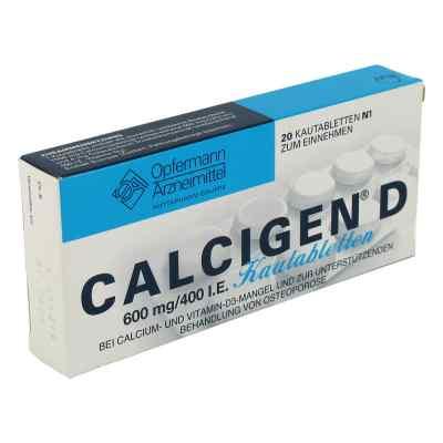 CALCIGEN D 600mg/400 I.E.  bei versandapo.de bestellen