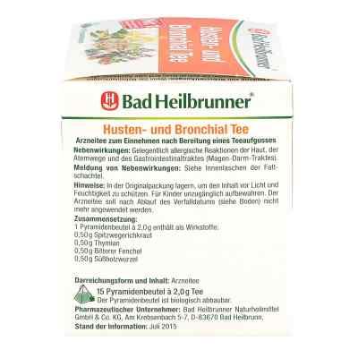 Bad Heilbrunner Tee Husten und Bronchial Filterbtl  bei versandapo.de bestellen